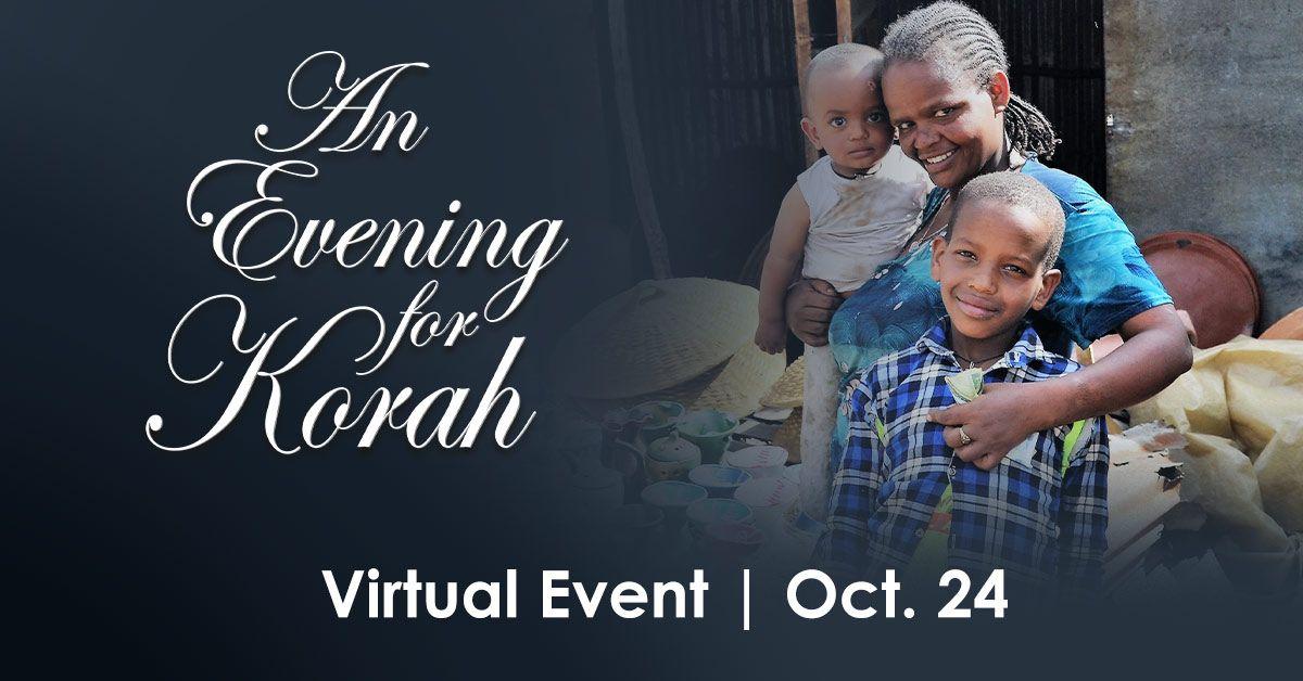 Evening For Korah Live Stream