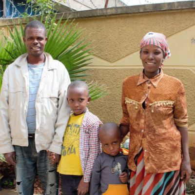 Sponsor Negesu's Family