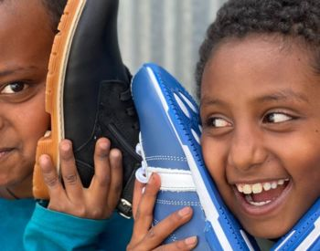 Thank you - 200 Pairs of NEW SHOES for School!